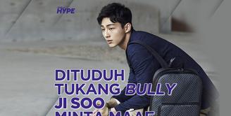 Aktor Ji Soo Minta Maaf Usai Dituduh Tukang Bully