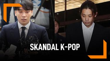 Mengejutkan, Deretan Skandal K-Pop Paling Heboh