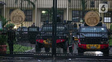 Suasana Mabes Polri Jakarta Usai Baku Tembak
