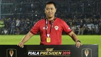 Asisten Manajer Kalteng Putra, Sigit Widodo. (Bola.com/Gatot Susetyo)
