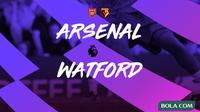 Premier League - Arsenal Vs Watford (Bola.com/Adreanus Titus)