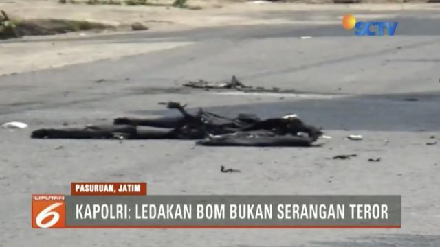 Kapolri Jendrel Tito Karnavian mengungkapkan ledakan bom di Pasuruan, Jawa Timur, merupakan bom yang gagal dieksekusi saat Pilkada.