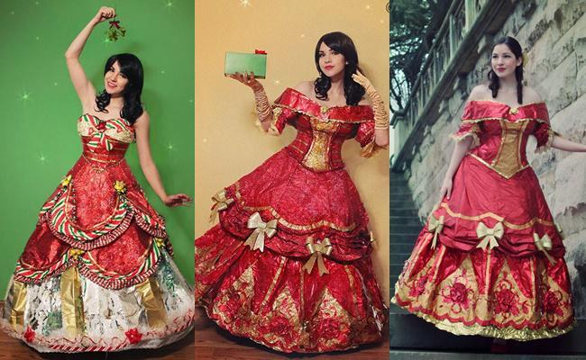 Gaun buatan Mears dari tahun ke tahun/copyright instagram.com/avantgeek