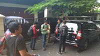 Suasana di rumah Dirut PLN, Sofyan Basir. (Merdeka.com/Nur Habibie)