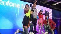 Suasana peluncuran Asus Zenfone Max Plus di Jakarta. Liputan6.com/Tommy Kurnia