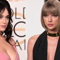 Katy Perry memang sudah terbilang lama berseteru dengan Taylor Swift. Bahkan keduanya membuat lagu atas permusuhan itu. Namun siapa sangka mereka punya selera pakaian yang sama? (Screener)
