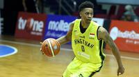 Pebasket Amerika Serikat, Bryquis Perine, gagal memperkuat Hang Tuah di sisa sesi Indonesia Basketball League (IBL) 2018-2019 karena kelebihan tinggi. (dok. Hang Tuah)