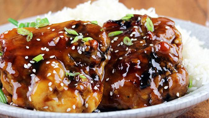 Foto Ayam Teriyaki Wijen Resep Ayam Teriyaki Praktis Hanya 5 Menit Lifestyle Fimela Com