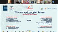 35th Trade Xpo Indonesia - Virtual MoU Signing, 16 November 2020.