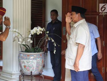 Prabowo Terima Para Purnawirawan di Rumah Kertanegara