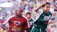 Koleksi foto pribadi legenda PSS Sleman, Muhammad Eksan. (Bola.com/Vincentius Atmaja)