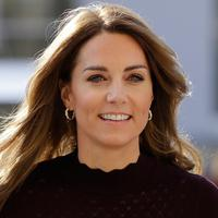 Kate Middleton mengunjungi Natural History Museum (Kirsty Wigglesworth / POOL / AFP)