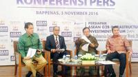 Pemerintah serta Kamar Dagang dan Industri (Kadin) Indonesia menyelengarakan pameran infrastruktur.