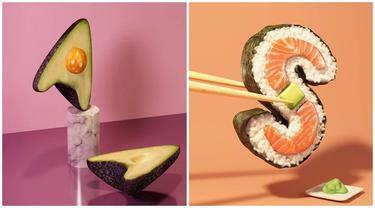 8 Makanan Bentuk Abjad 3D Ini Kreatif, Bikin Mikir Dua Kali Cara Pembuatannya