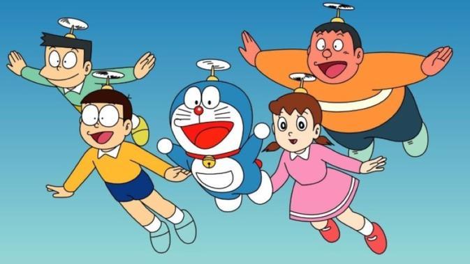 Cara Menggambar Doraemon Dan Kawan Kawan Mudah Dengan Bantuan Huruf Citizen6 Liputan6 Com