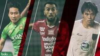 Trivia Rapor 3 Pemain Asing Asia yang Mencolok di Liga 1 2019 (Bola.com/Adreanus Titus)