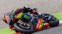 Pembalap Yamaha Tech 3, Hafizh Syahrin siap menyambut MotoGP Catalunya 2018. (Twitter/Yamaha Tech 3)