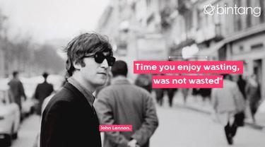 10 Quotes John Lennon Untuk Rayakan Ulang Tahun Sang