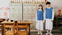 Desainer Taiwan, Angus Chiang, merilis koleksi seragam sekolah netral gender. (dok. projectuni-form.com.tw)
