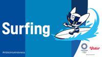 Banner Surfing Olimpiade Tokyo 2020 (Foto: Vidio)