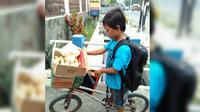 Bocah SD kelas 2 Asal Semarang