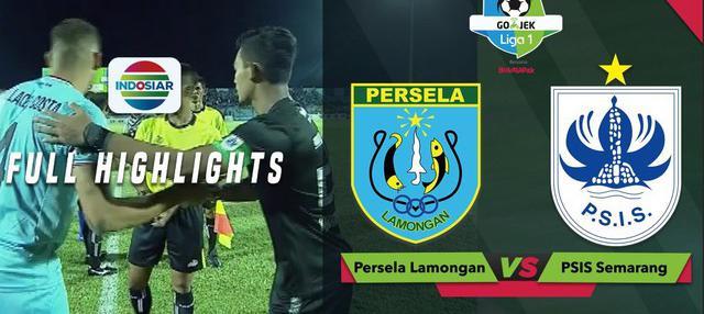 Berita video highlights Gojek Liga 1 2018 bersama Bukalapak antara Persela Lamongan melawan PSIS Semarang yang berakhir dengan skor 1-1, Jumat (5/10/2018).