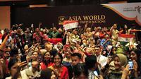 Acara Asia World Model United Nations (AWMUN).