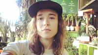 Elliot Page, yang sebelumnya dikenal sebagai Ellen Page. (Instagram/ elliotpage)