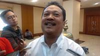 Bendahara Umum Tim Kampanye Nasional Jokowi-Ma'ruf, Wahyu Sakti Trenggono. (Liputan6.com/Putu Merta Surya Putra)