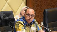 Wakil Ketua Komisi II DPR RI Junimart Girsang. (Foto: Geraldi/nvl)