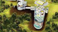 Seorang milyuner yang takut akan kedatangan kiamat membuat bunker perlindungan yang mewah