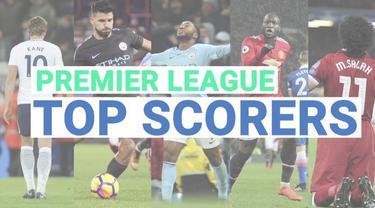 Daftar Top Skorer sementara Premier League hingga pekan ke-24.