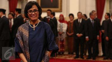20160727-Menteri Keuangan  Sri Mulyani-Jakarta