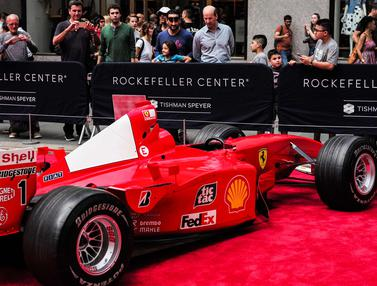 Ulang Tahun Ferrari-Mobil Michael Schumacher