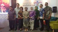 Jumpa pers Indonesia Weekend, ajang promosi pariwisata Indonesia untuk masyarakat Eropa. (Liputan6.com/ Ahmad Ibo)