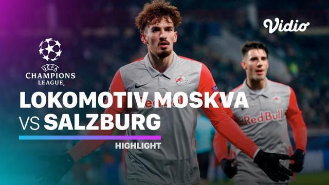 Berita video highlights Liga Champions, RB Salzburg kalahkan Lokomotiv Moscow dengan skor 3-1, Rabu (2/12/20).