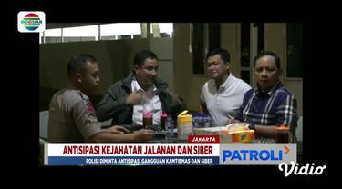 Tak hanya itu, personel Polda Metro Jaya juga diminta mengantisipasi dan tidak kalah dengan perkembangan kejahatan siber.