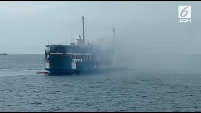 Tim SAR gabungan masih terus mencari nahkoda KM Gerbang Samudra yang mengalami kecelakaan.