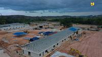 Pembangunan Rumah Sakit Corona Covid-19 di Pulau Galang (Dok. Kementerian PUPR)