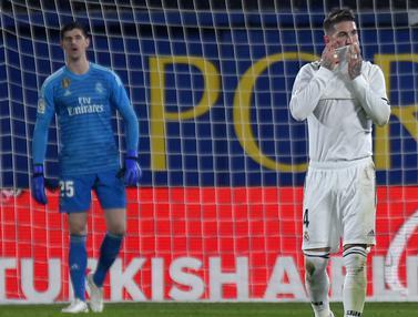 Real Madrid Kembali Catatatkan Hasil Kurang Menyenangkan