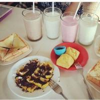 Susu Murni Lembang. foto: Instagram (@anni_intan)