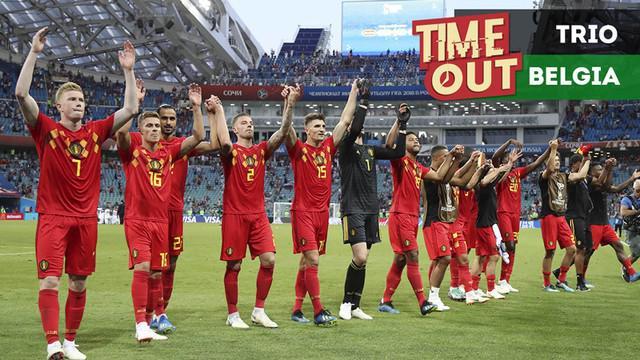 Berita video Time Out kali ini tentang tiga pemain berbahaya dari Belgia di Piala Dunia 2018 yang perlu diwaspadai Inggris.