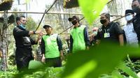 Menteri Pertanian, Syahrul Yasin Limpo mendorong Kabupaten Malang jadi penghasil bibit alpukat berkualitas tinggi (Kementan)