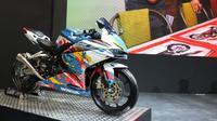 Honda CBR250RR Fury Dragon menjadi juara pertama Honda CBR250RR Virtual Modif Challenge (Arief/Liputan6.com)