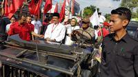 Gus Ipul gelar kampanye damai ( Liputan6.com/ Dian Kurniawan)