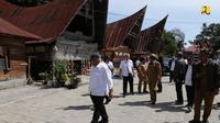 Salah satu desa wisata di Pulau Samosir (dok: PUPR)