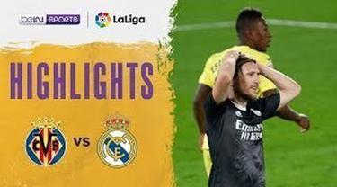 Berita video, Real Madrid gagal menang atas Villarreal di Liga Spanyol pekan ke-10