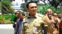 Gubernur DKI Jakarta Basuki Tjahaja Purnama. (Liputan6.com/Ahmad Romadoni)
