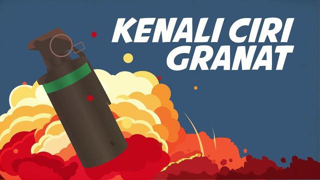 Ledakan granat asap terjadi di Monas pada Selasa (3/12/2019) pagi. Antisipasi kejadian serupa perlu dilakukan seperti mengetahui ciri-ciri granat.