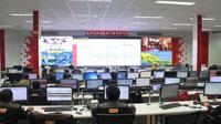 Indosat Ooredoo Network Operation Center. Dok: Indosat Ooredoo